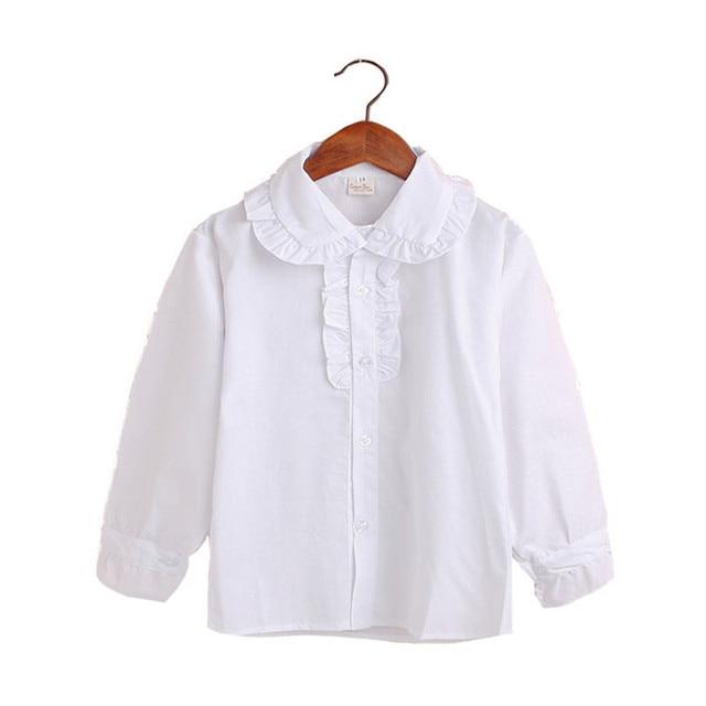 228f33001 Blusas de manga larga Casual de otoño niños blusas para Niñas Ropa niño niña  ropa Camisas