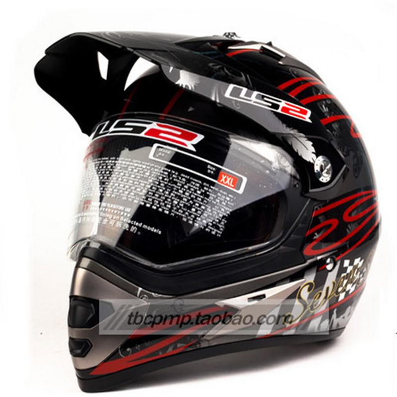 ФОТО Genuine latest LS2 helmet motocross helmet full helmet winter MX433, free shipping Motorcycle Helmet