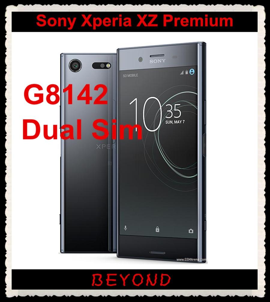 Sony Xperia XZ Premium Dual G8142 Original Unlocked GSM Dual Sim LTE Android Octa Core RAM 4GB ROM 64GB 5.5