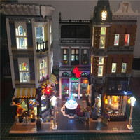 Led Light Up Kit DIY For Lego Building City Street 10255 The Assembly Square House Toy