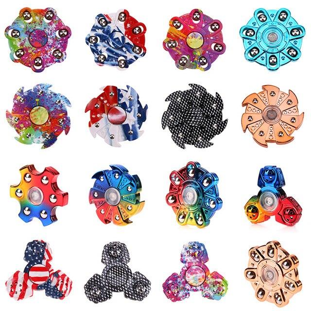 Новые покрытие Непоседа счетчик ВДГ ручной Spinner Для аутизма и СДВГ время вращения Длинные анти-стресс фокус игрушки подарок