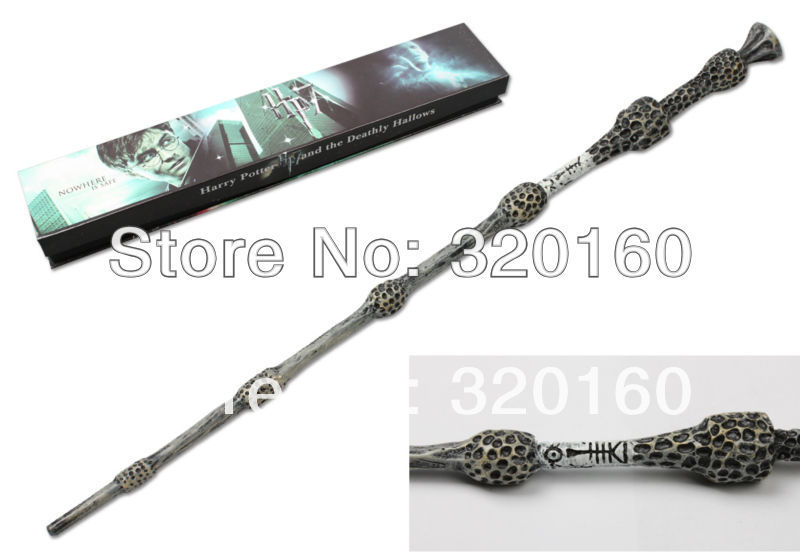 Wholesale magic wand harry potter wand 35cm dumbledore for Elder wand price