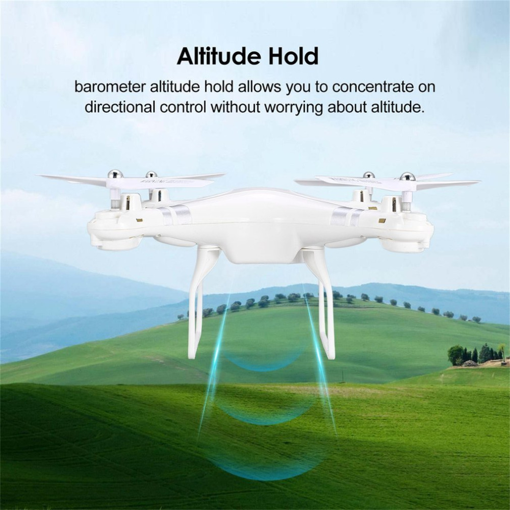 SH5H 2.4G 4CH Smart Drone RC Quadcopter with 720P Camera Altitude Hold Headless Mode One Key Return LED Light VS Syma X5