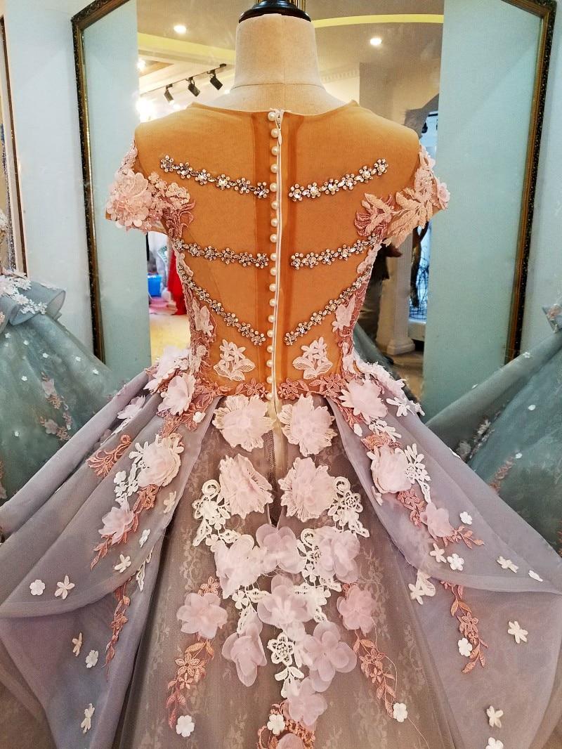 LS88349 gaun panjang untuk gaun pesta perkahwinan vestidos de festa - Gaun acara khas - Foto 5