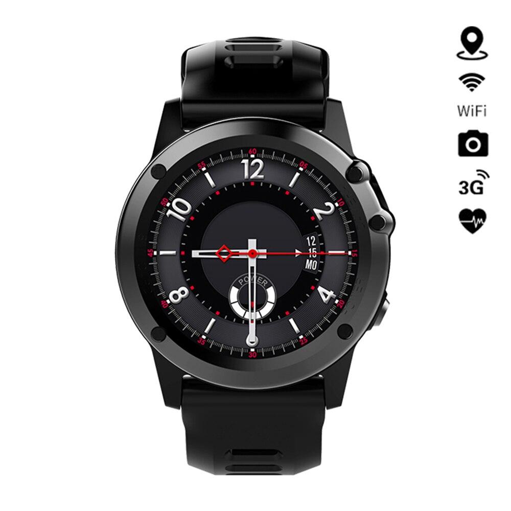 H1 Smart Uhr Android MTK6572 IP68 Wasserdichte Unterstützung 3G Wifi GPS SmartWatch Anruf SIM Kamera Bluetooth Für iPhone samsung