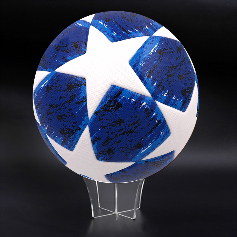 Football Display Stand Acrylic Transparent Holder Rack Support Base For Soccer Volleyball Basketball Rugby Ball