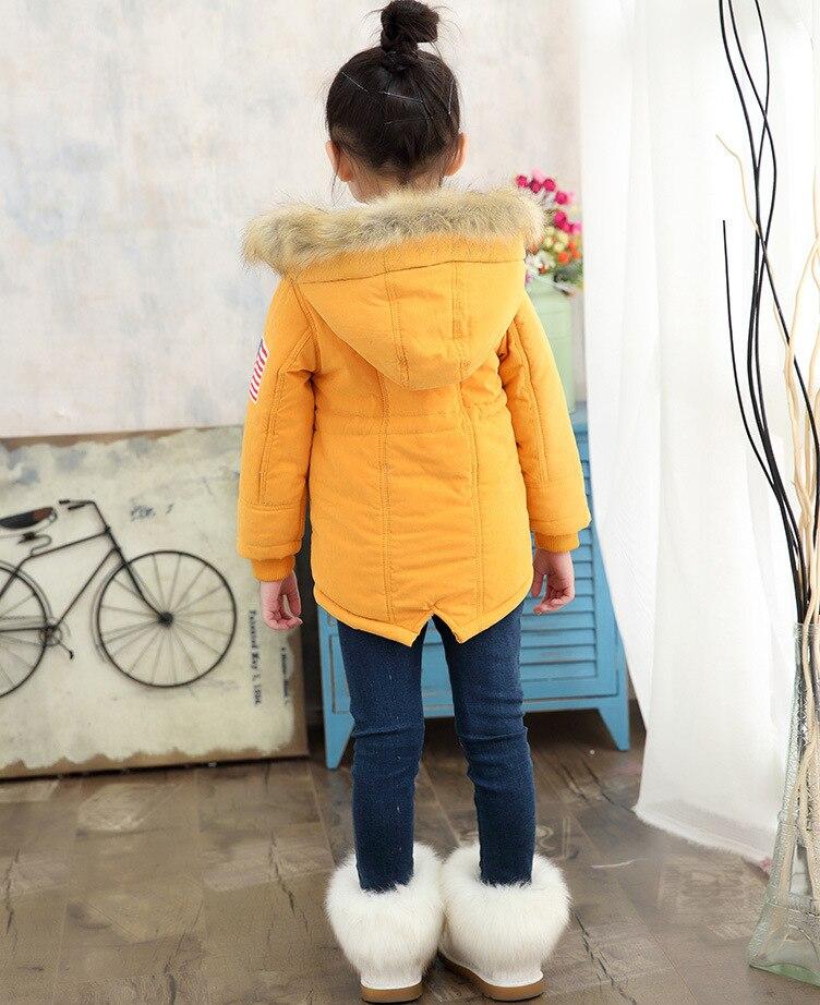 f3b8ba6356c7 Detail Feedback Questions about 2018 Autumn Winter Kids jacket long ...