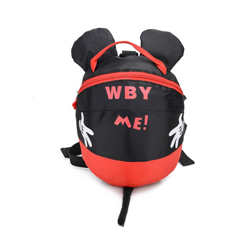 Baby Kid Anti Lost Backpack Harnesses Leashes Toddler Cartoon Safety Activity Backpack Child Schoolbag Walking Strap Bag