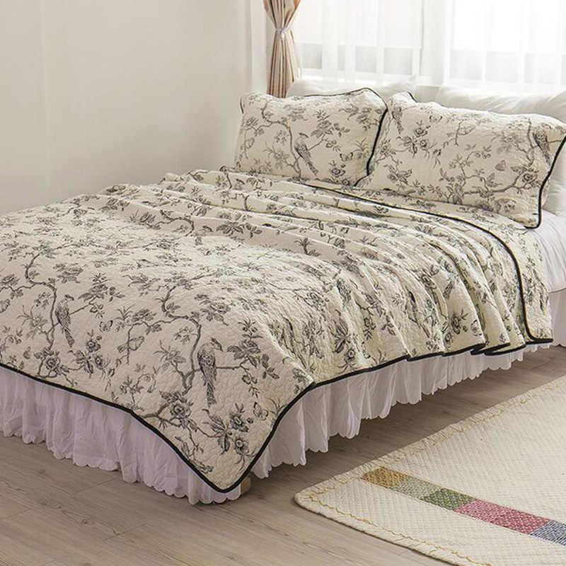 Bedspreads.100 Cotton Luxury Bedding Set Bedspreads Silk Sheets Bed Spread Linen Queen Size 230 250cm Designer Bedroom