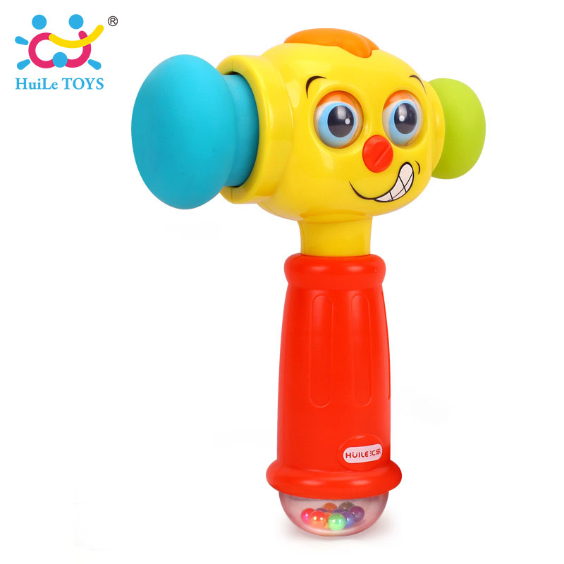 HUILE-TOYS-3115-Baby-Toys-Toddler-Play-Hammer-Toy-with-Music-Lights-Electric-Toys-Improve-Babys-Operation-Ability-12-month-2