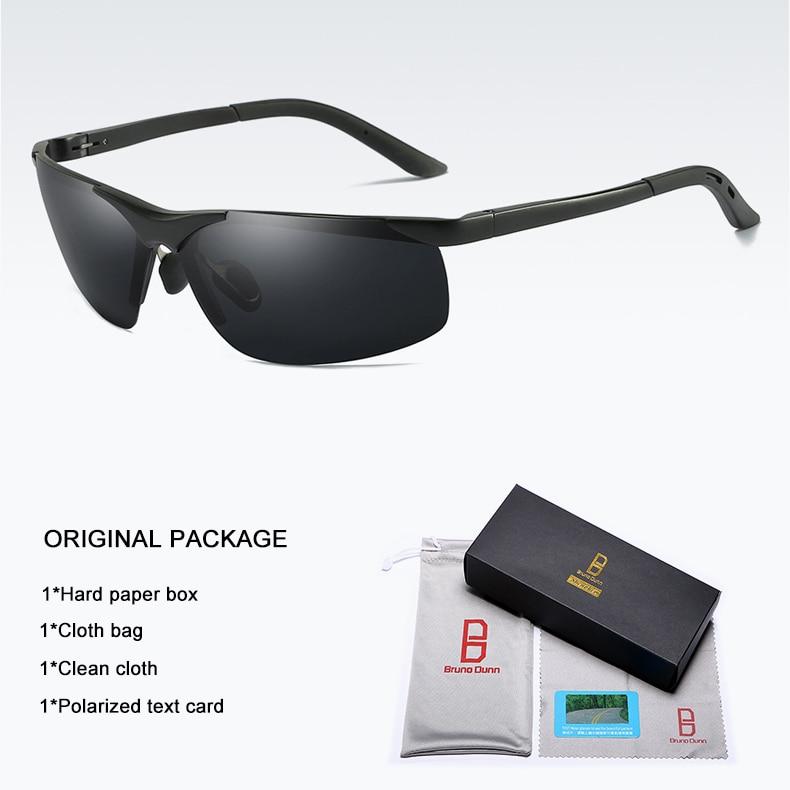 Bruno dunn 2020 Men Sunglasses Polarized uv400 high quality oculos de sol masculino oversized sunglases lunette soleil homme 7