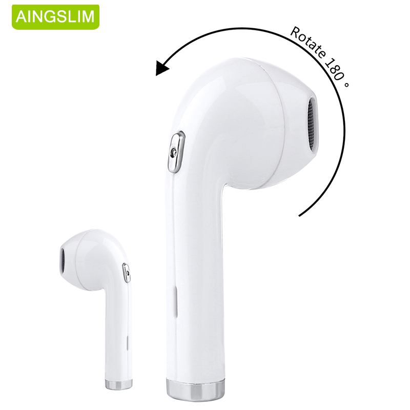 2017 neueste Bluetooth V4.1 Kopfhörer Mini Drahtlose Hörmuschel Stereo v1 Sport Headset für iPhone 7 plus 7 Samsung Xiaomi
