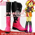 My Little Pony Sunset Shimmer cosplay Shoes Boots por encargo