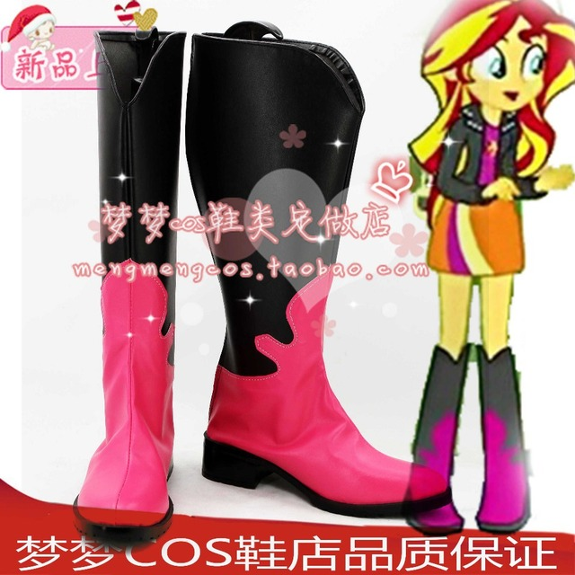 b4080f1a08a5 Sunset Shimmer cosplay Shoes Boots Custom Made -in Shoes from ...