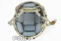 Venta grande FMA Airsoft Tactical almohadilla protectora para CP casco de combate del ejército militar de la alta calidad de protección accesorios del casco #