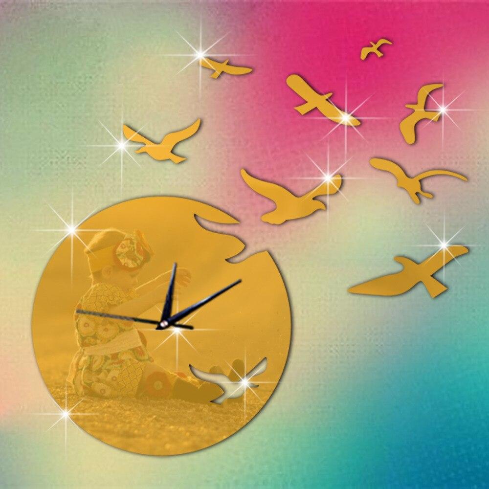 Funlife(TM)] 48.3x44cm(19x17in) Cartoon Acrylic Flying Birds Wall ...