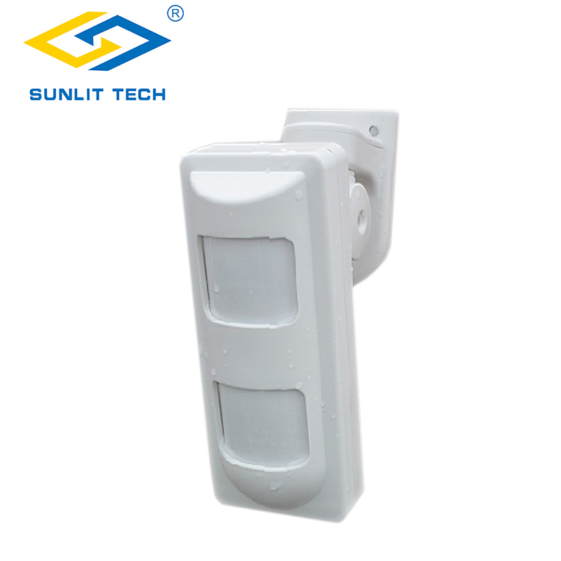 Outdoor Wireless Dual PIR Motion Sensor Waterproof Pet Friendly Alarm Sensor for GSM PSTN Home Security