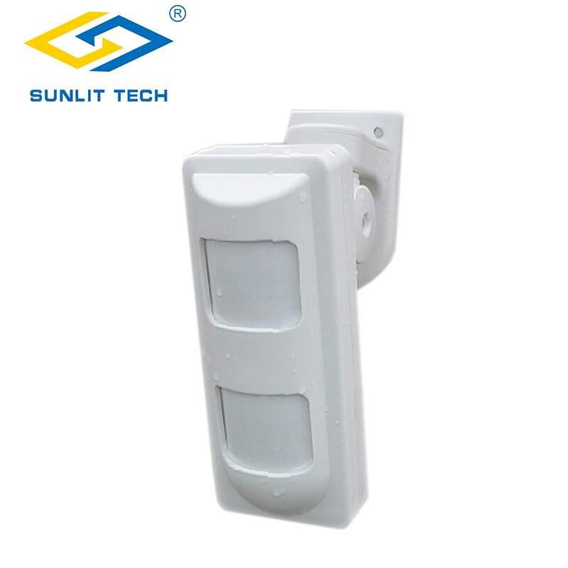 Outdoor Draadloze Dual PIR Bewegingssensor Waterdichte Huisdier Vriendelijke Alarm Sensor voor GSM PSTN Alarmsysteem G90B Plus-in Sensor en detector van Veiligheid en bescherming op AliExpress - 11.11_Dubbel 11Vrijgezellendag 1