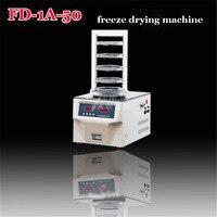 1PC FD 1A 50 vacuum freeze dryer / Laboratory lyophilizer 220V 50Hz 850W