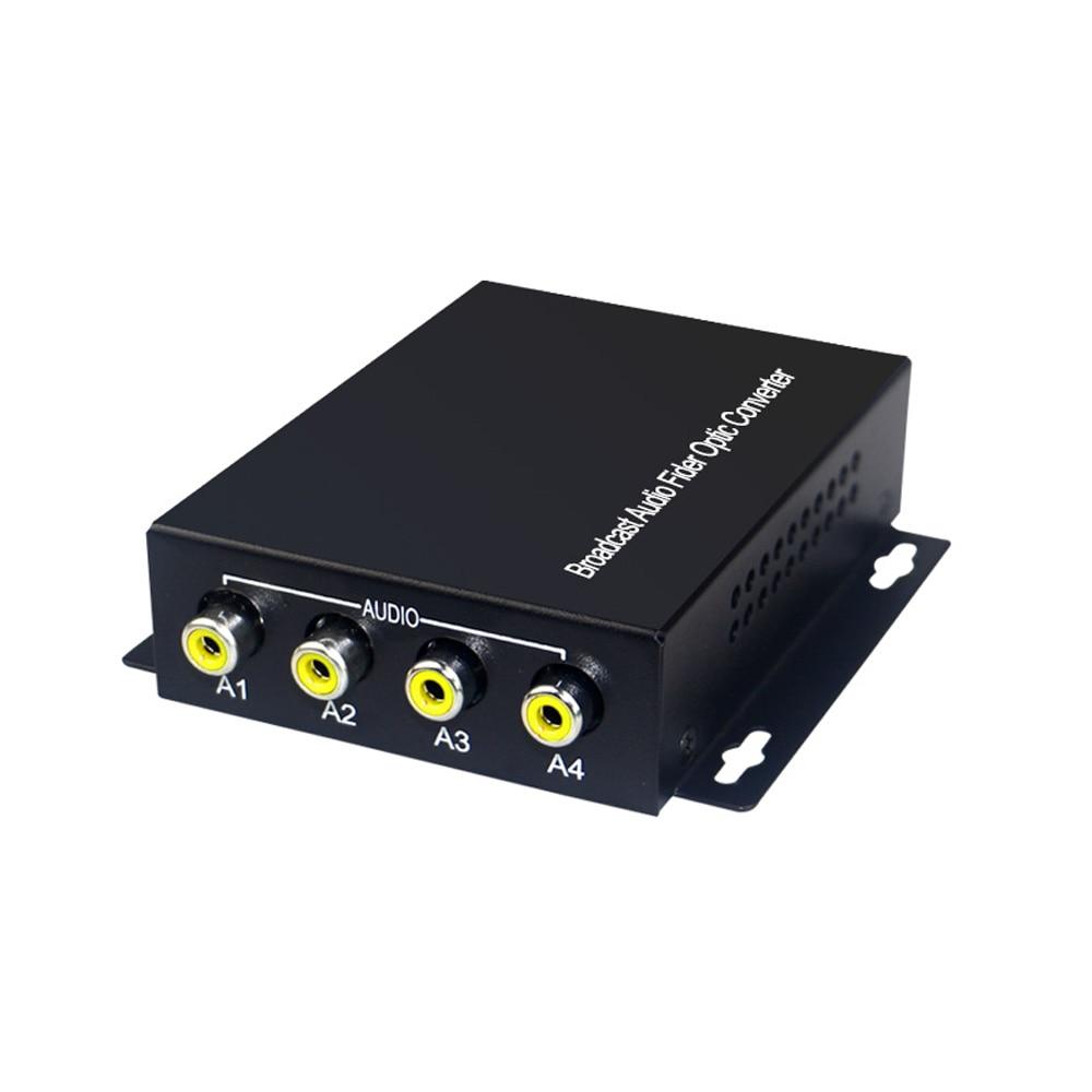 4 Аудио над FC Оптичен удължител - Комуникационно оборудване - Снимка 2