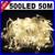 50 M 500 LED 9 Colores de Fiesta de Año Nuevo de Navidad Navidad Decoración Al Aire Libre de hadas de la Secuencia Garland Boda de La Navidad LED Light CN C-35