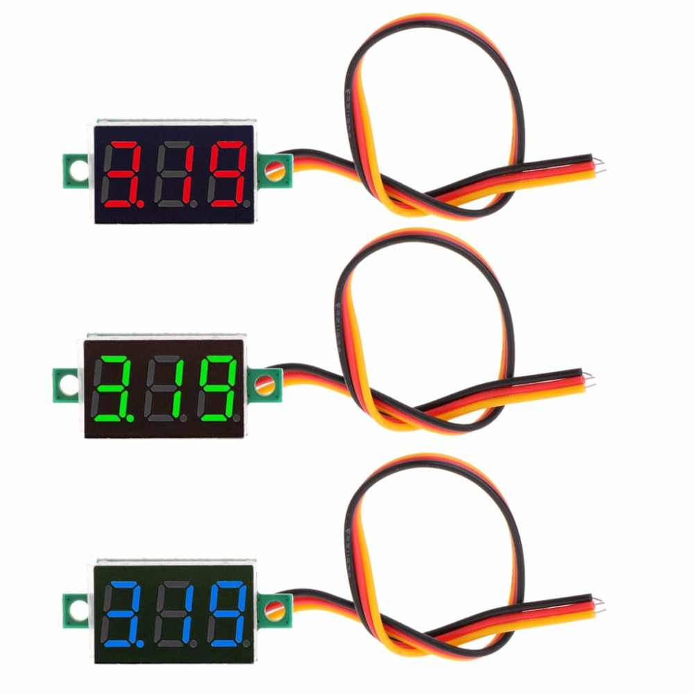 Detail Feedback Questions About Digital Voltmeter 036 2 Wires Dc 3 Wire Wiring 0 100v Bits Led Display Panel Voltage