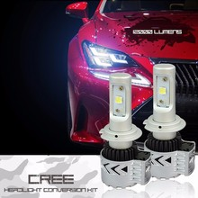 2016 new super bright 12000LM Headlights FOR Chrysler Head Light Low Beam H4 9004 H13 9005 H11 12000LM Headlamp 6500K LED Bulbs