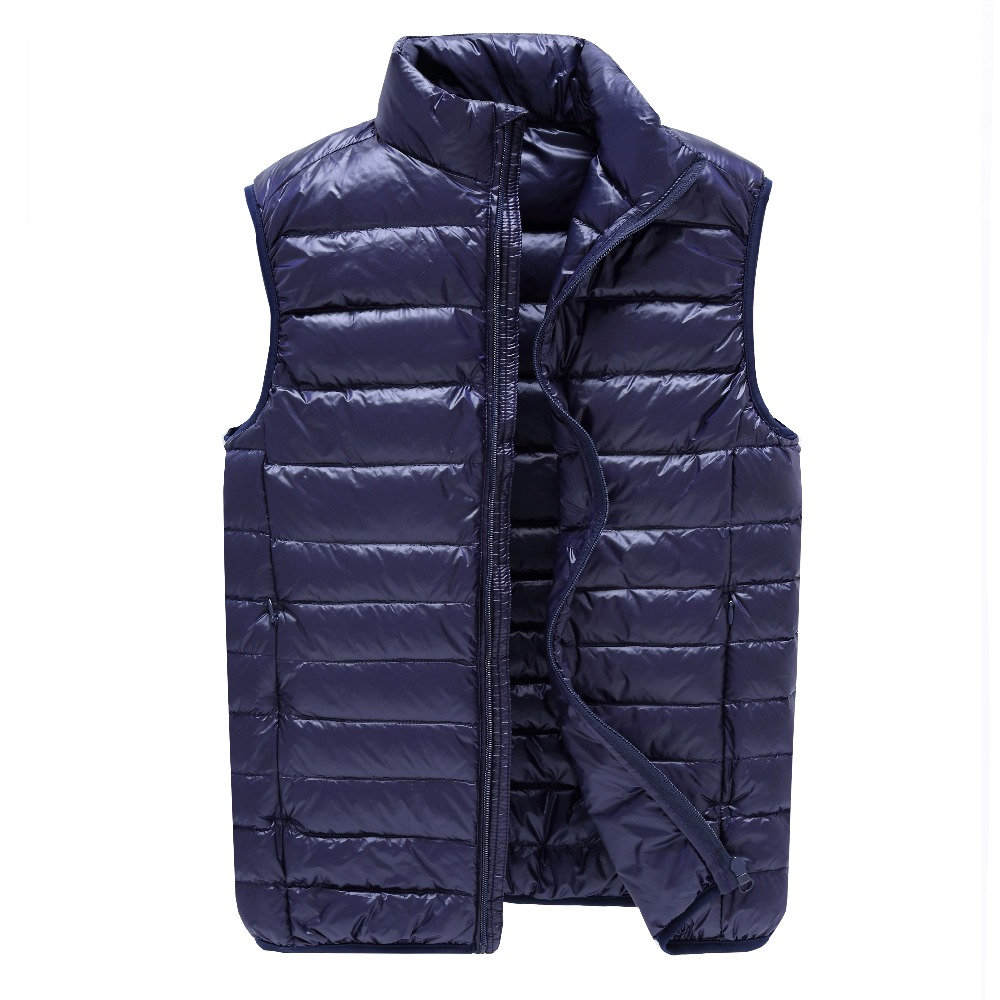 Fashion Style New Autumn and Winter Lovers Down Cotton Vest font b Women b font and