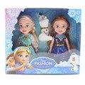 Disney Toys 3pcs/Lot 16cm Princess Doll Frozen Anna Elsa Doll Olaf Accessories For Barbie Girls Gift Girls Fashion Doll Toys