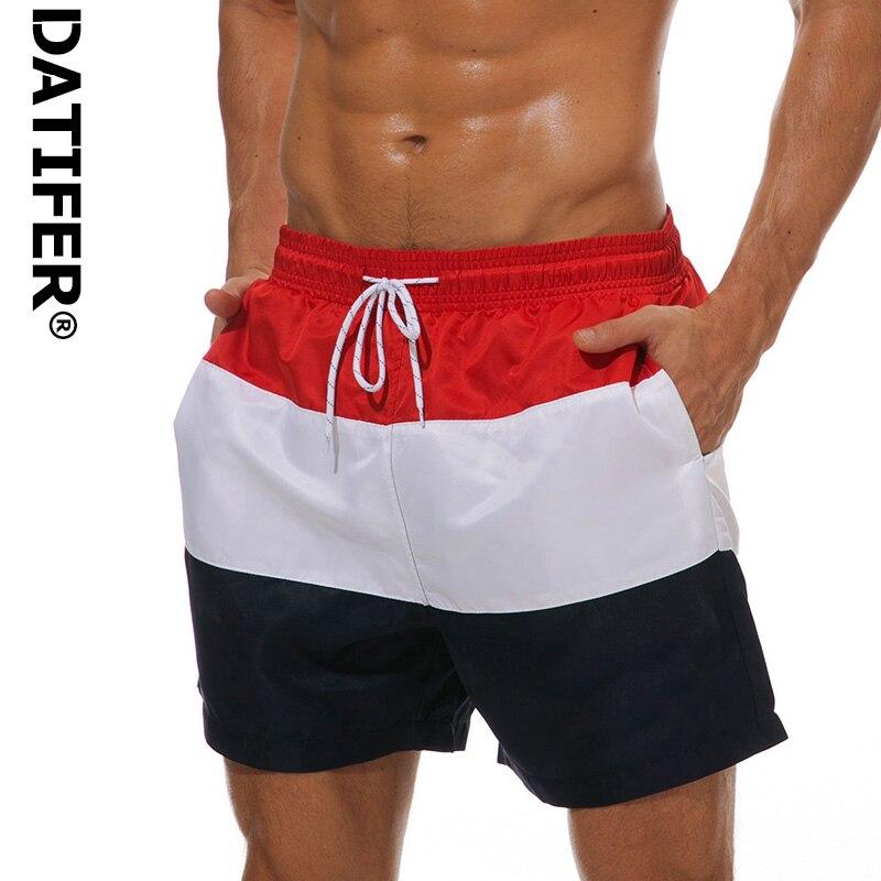 a334ee6e70 ES6C Quick Dry Mens Swim Shorts Summer Mens Board Shorts Surf Swimwear
