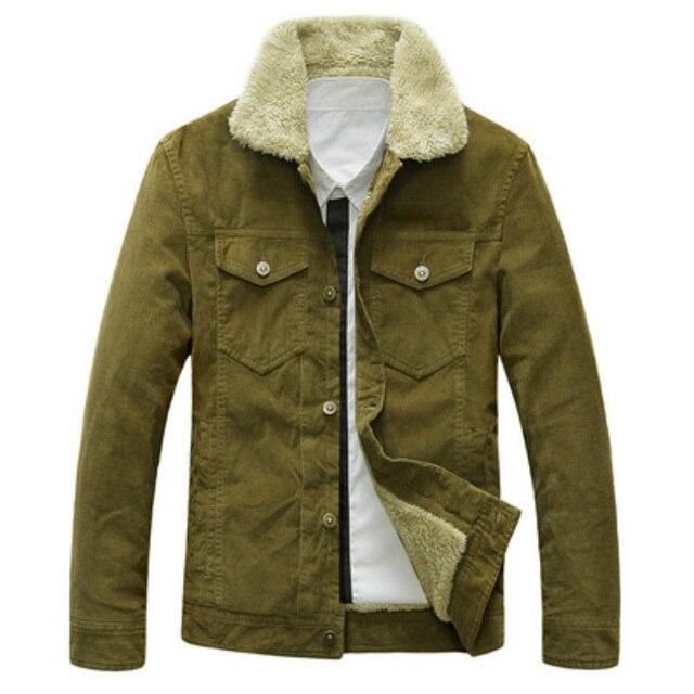 a2d4036e0a1 BINYUXD Winter Jacket Men Cotton Thicken Vintage Coats 2017 Europe America  Classic Windproof Parkas Outwear Plus Size