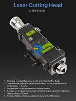 bt240 raytool laser cutting head for 1000w fiber laser cutting machine