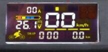 Prix pour Puce d'affichage pour En Aluminium scooter, 24 V/36 V affichage approprié avec connecteur