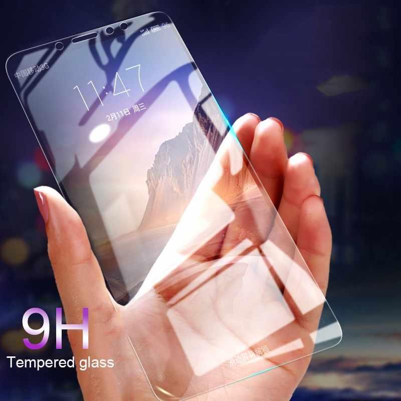 3 قطعة/الوحدة الزجاج المقسى لسامسونج غالاكسي J5 J4 J8 J3 J6 J7 A6 A8 زائد A7 J2 J250 2018 واقي للشاشة واقية