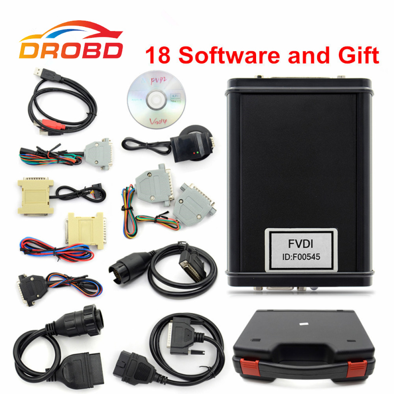 2018 New Arrival No Time Limited FVDI Full Version FVDI ABRITES Commander (Including 18 Software) FVDI Diagnostic Tool Scanner 2017 fvdi2 abrites commander for honda hds v3 016 with free j2534 drewtech software