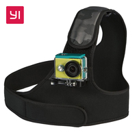 YI Chest Mount For YI Action Camera Black Camo For Sports Camera YI Official Store