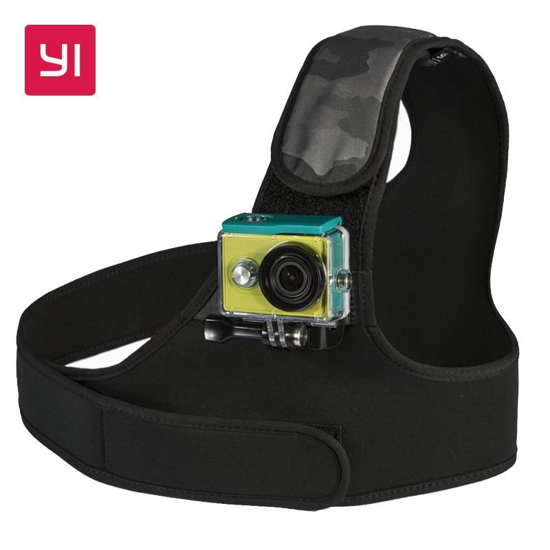 YI Chest Mount For YI font b Action b font font b Camera b font Black