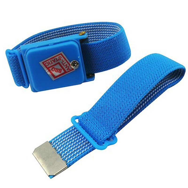 Brilliant Wholesale Anti Static Antistatic Esd Adjustable Wrist Strap Band Blue Free Shipping Power Tool Accessories