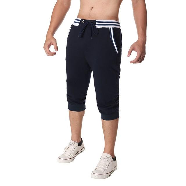 2017 New Men Calf-Length Pants Hot Trousers Clothing Pantalon Homme Casual Slim Man Joggers Sweatpants Male Trousers Tracksuits