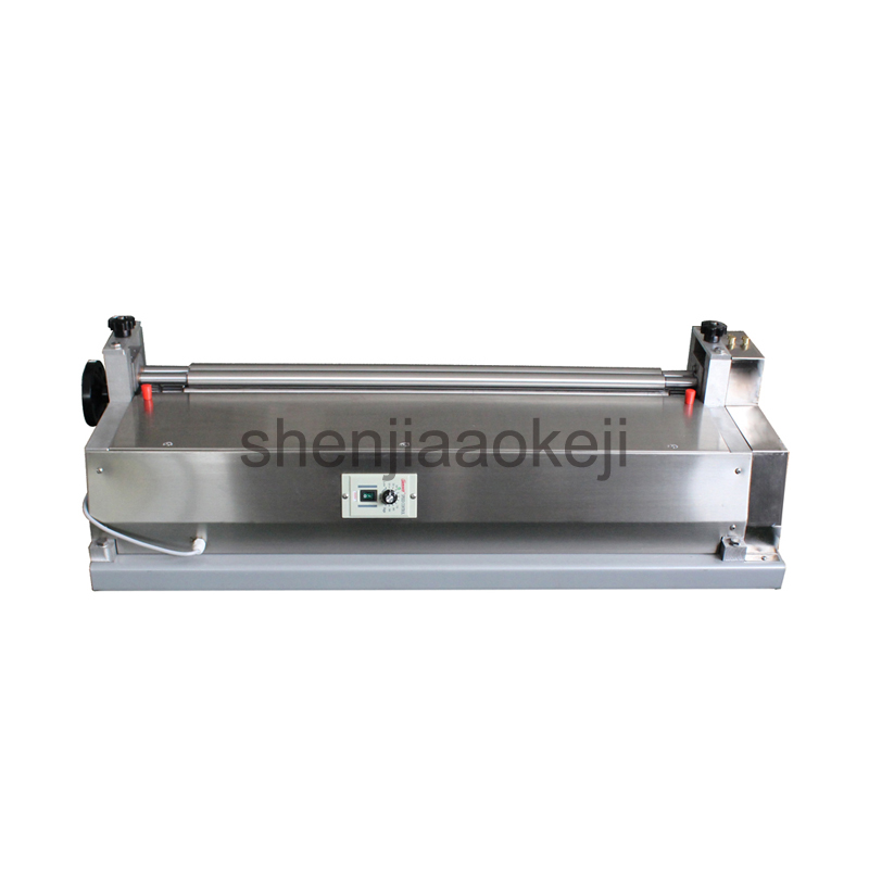 120W Stainless steel glue machine JS 500A paper board gluing machine leather gluing machine sample book