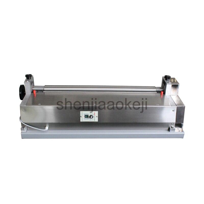120 W In acciaio inox macchina della colla JS-500A cartone incollatrice in pelle incollaggio macchina campione libro shell macchina della colla 220 V