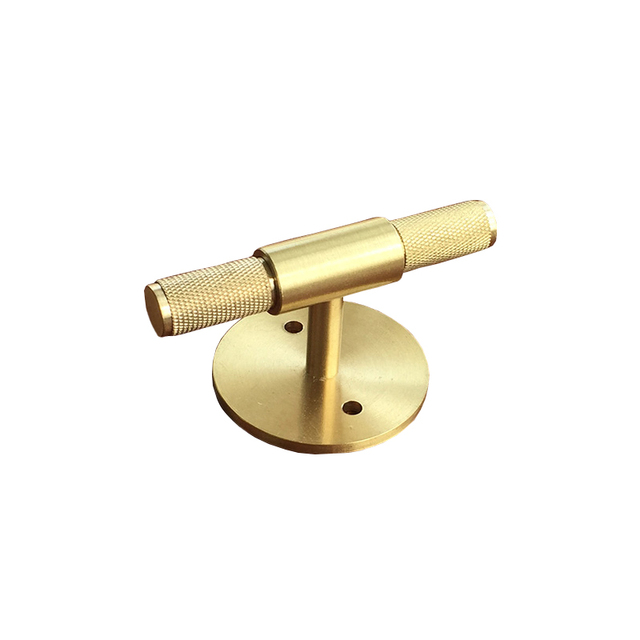 Genial Knurled/Textured Cabinet Handles Gold Kitchen Drawer Pulls Bedroom Knobs Solid  Brass Single Hole Cabinet