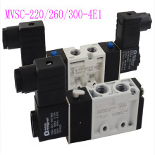 MVSC series solenoid valve MVSC-220-4E1/DC24V/AC220V two-position five-way reversing valve