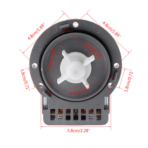 Image 5 - Bomba de dreno para máquina de lavar, motor de saída de água peças para samsung lg midea little swan