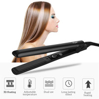 2 in 1 Hair Straightener Professional Flat Iron Titanium with Adjustable Temperature for Hair Styling 30