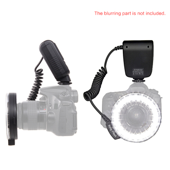 Andoer RF-550D Macro 48 LEDs Ring Flash Light Mini Camera Flash for Canon Nikon Pentax Olympus DSLR Cameras