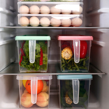 Large Refrigerator Storage Box Multi-Function Frozen Vegetable And Fruit Will Sell Gifts