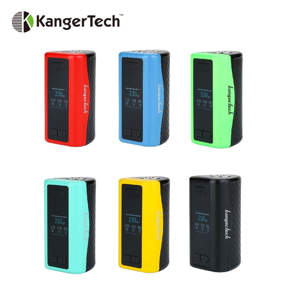 Original 230 W Kangertech IKEN TC boîte MOD 5100 mAh construit dans la batterie 1.54 pouces TFT écran grand sentiment de main E cigs Vape IKEN Mod