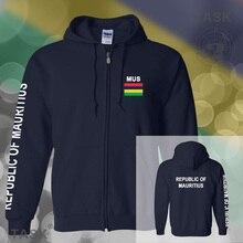 Mauritius Maurice Moris mens hoodies and sweatshirt jerseys polo sweat suits streetwear tracksuit nation fleece zipper Mauritian