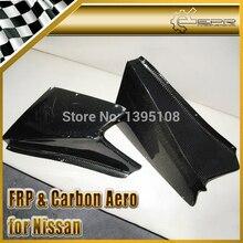 ЭПР Стайлинга Автомобилей Для Nissan Silvia S15 Реальные Углеродного Волокна Переднего Бампера Canard